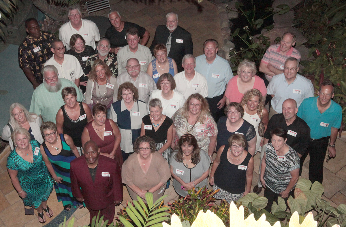 Jefferson '74 alumni had a ball at the 40th Reunion at Nicholas Conservatory